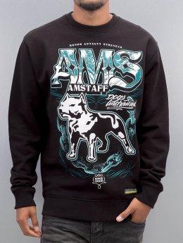 Amstaff trui Daban zwart