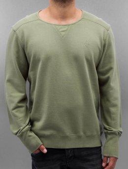 Amsterdenim Pullover Zeger grün