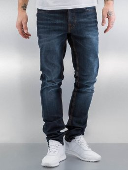 Amsterdenim Straight Fit Jeans Mar blå