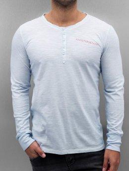 Amsterdenim T-Shirt manches longues Leen bleu