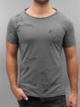 Amsterdenim T-skjorter Henk grå