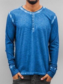 Amsterdenim Tričká dlhý rukáv Jeen Hart modrá