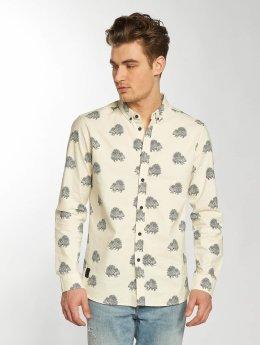 Anerkjendt overhemd Konrad beige