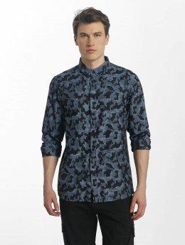 Anerkjendt overhemd Konrad blauw