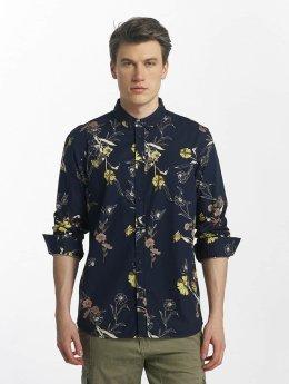 Anerkjendt / overhemd Konrad in blauw