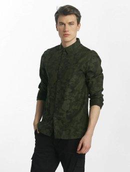 Anerkjendt overhemd Charles camouflage
