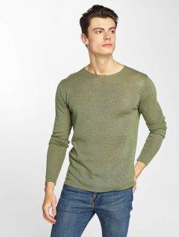Anerkjendt Pullover Nikos Knit grün