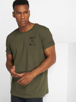 Anerkjendt T-paidat Rod khakiruskea