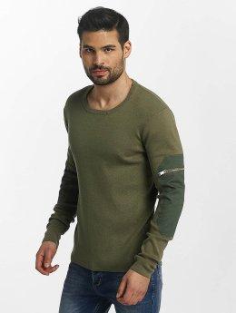 Anerkjendt trui Mac olijfgroen