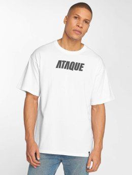 Ataque Camiseta Leon blanco