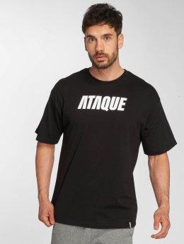 Ataque Camiseta Leon negro