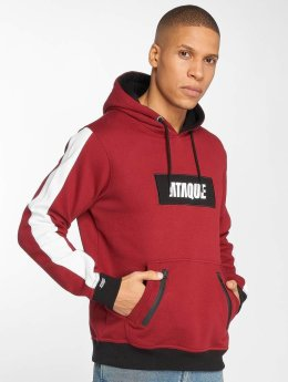 Ataque Sweat capuche Mataro rouge