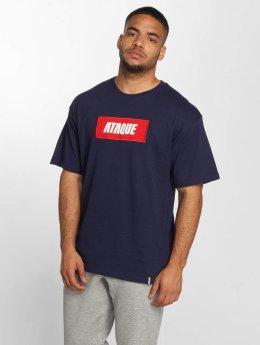Ataque T-shirt Mataro blå