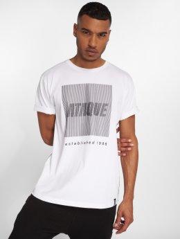 Ataque T-Shirt Azul blanc