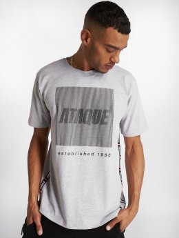 Ataque T-Shirt Azul gris