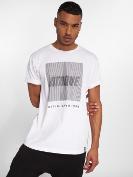 Ataque T-skjorter Azul hvit