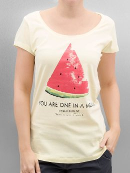 Authentic Style Camiseta Summer Fruit amarillo
