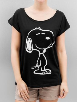 Authentic Style Camiseta Sublevel Peanuts negro