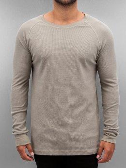 Authentic Style Maglietta a manica lunga Raglan grigio
