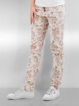 Authentic Style Skinny Jeans Rose  mangefarvet