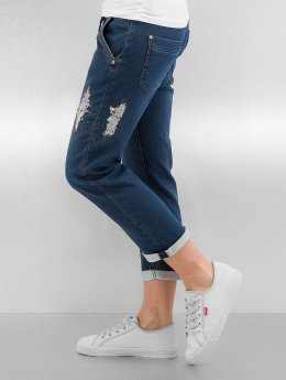 Authentic Style / Straight fit jeans Romy in blauw