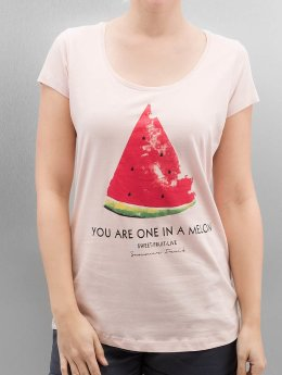 Authentic Style T-Shirt Summer Fruit rosa