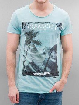 Authentic Style - Urban Surface Oceancity T-Shirt Pastel Turquoise Melange
