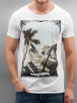 Authentic Style T-Shirt Oceancity weiß