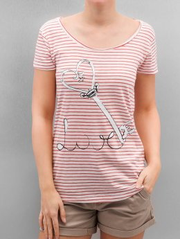Authentic Style Tričká Fresh Made Stripe ružová