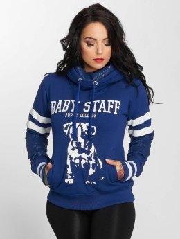Babystaff Sweat capuche Lessa bleu