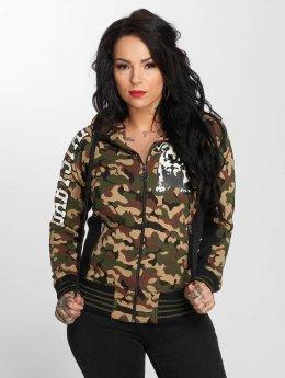 Babystaff Sweat capuche zippé Juva camouflage