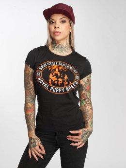 Babystaff T-Shirt Tama schwarz