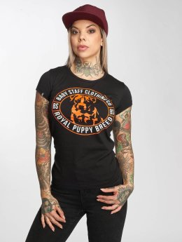 Babystaff t-shirt Tama zwart