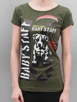 Babystaff Tričká Sotilas olivová