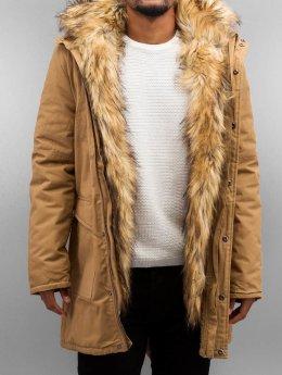 Bangastic Пальто Fake Fur коричневый