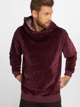Bangastic Bluzy z kapturem Bangkok Üst Oversize czerwony