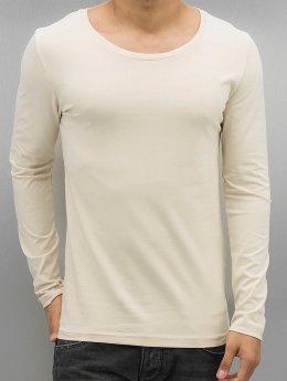 Bangastic Camiseta de manga larga Glendale  beis