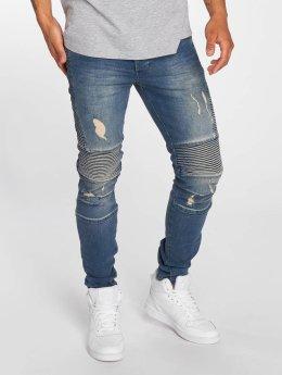 Bangastic dżinsy przylegające Drew niebieski