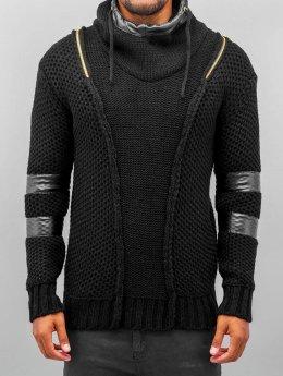 Bangastic Hoody Knitted Force schwarz