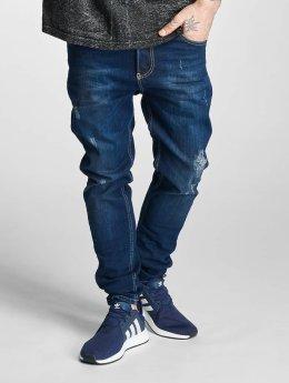 Bangastic Jean coupe droite Conlin bleu