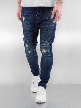 Bangastic Jean slim Quilted indigo