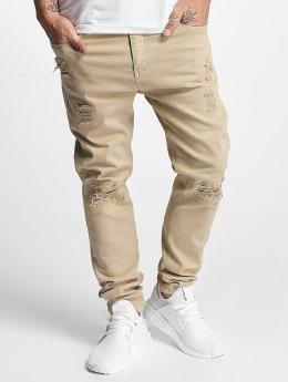 Bangastic Jeans ajustado Burundi beis