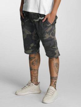 Bangastic Army Shorts Blue Camouflage