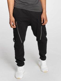 Bangastic Pantalone ginnico Hardstyle nero
