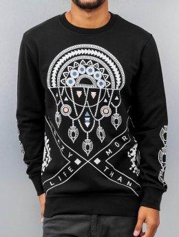 Bangastic Pullover Indian schwarz