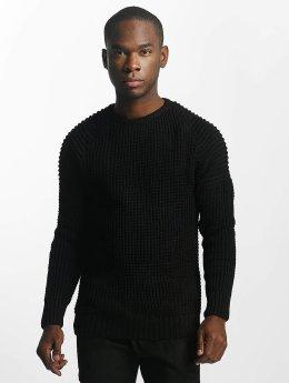 Bangastic Pullover Biker schwarz