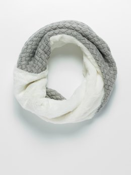 Bangastic Scarve / Shawl Fake Fur Loop white