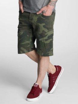 Bangastic Camou Shorts Green Camouflage