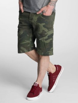 Bangastic Camou Shorts Green Camouflage