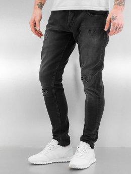 Bangastic Slim Fit -farkut A75 musta